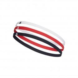 Adidas 3PP Hairband 3 Darabos Fejpánt (Piros-Sötétkék) FM0216