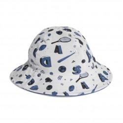 Adidas INF Bucket Hat Kisfiú Bébi Kifordítható Kalap (Kék-Fehér) FL8996