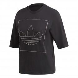 Adidas Originals Tee Női Póló (Fekete) FM1912