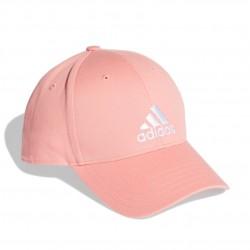 Adidas BBall Cap COT Gyerek Baseball Sapka (Rózsaszín-Fehér) FK0893