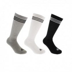 Adidas 3 Stripes Knee Socks 3 Páras Zokni Csomag (Fekete-Fehér-Szürke) AY6440