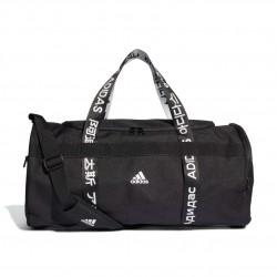 Adidas 4ATHLTS Duffel Bag Medium Sporttáska (Fekete-Fehér) FJ9352