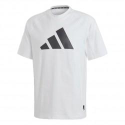 Adidas Athletics Pack Heavy Tee Férfi Póló (Fehér-Fekete) FL3886