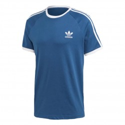 Adidas Originals 3 Stripes Tee Férfi Póló (Kék-Fehér) FM3772