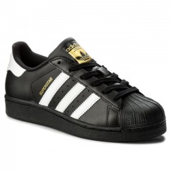 Adidas Originals Superstar Foundation Utcai Cipő (Fekete-Fehér-Arany) B23642