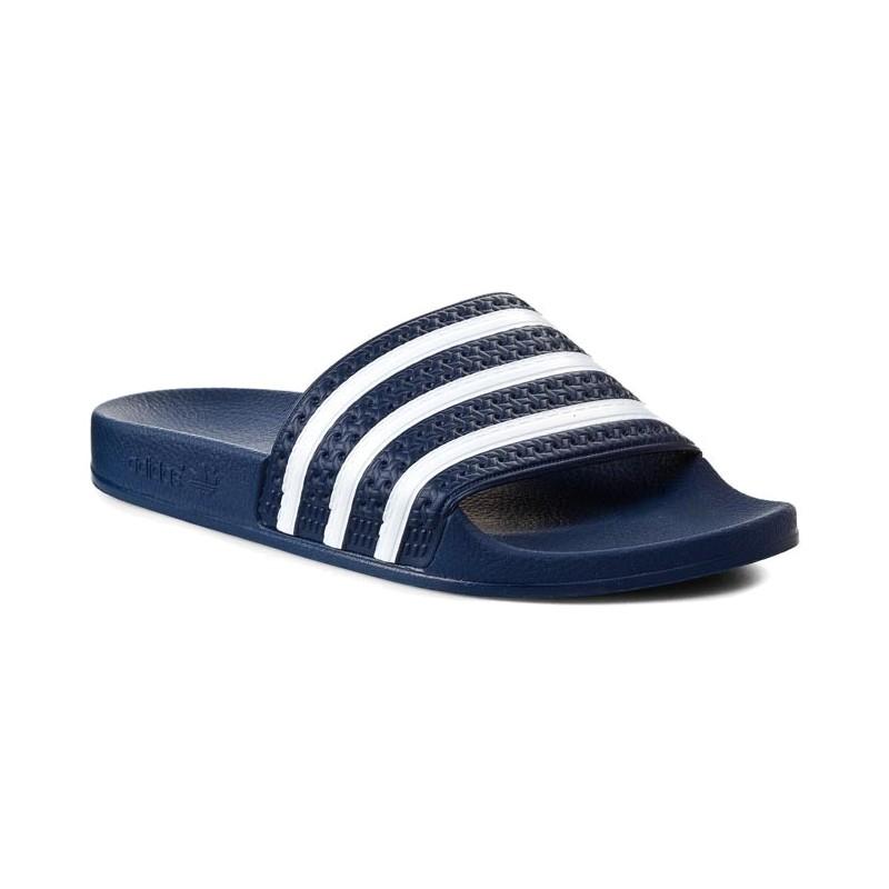 Adidas Originals Adilette Papucs (Kék Fehér) 288022