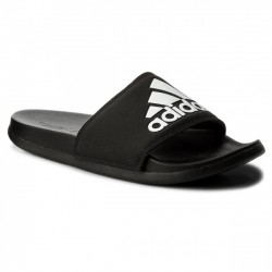 Adidas Adilette Cloudfoam Plus Logo Slides Férfi Papucs (Fekete-Fehér) CG3425