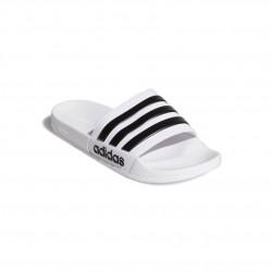 Adidas Adilette Cloudfoam Slides Uniszex Papucs (Fehér-Fekete) AQ1702