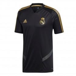 Adidas Real Madrid Training Jersey Férfi Póló (Fekete-Arany) DX7848