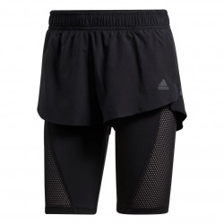 Adidas 2in1 Short Női Futó Short (Fekete) EH5742