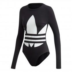 Adidas Originals Large Logo Bodysuit Női Body (Fekete-Fehér) FM2651