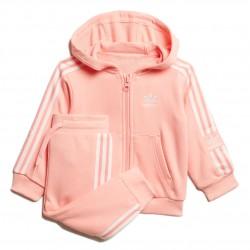Adidas Originals Lock Up Set Kislány Gyerek Együttes (Rózsaszín-Fehér) FM5603