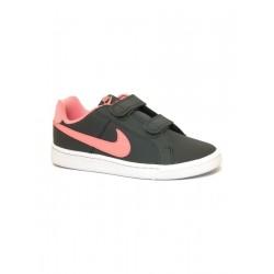 Nike Court Royale Lány Gyerek Cipő (Szürke-Rózsaszín) 833655-002