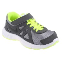 Nike Revolution 2 Fiú Gyerek Cipő (Szürke-Uv Zöld) 555083-019