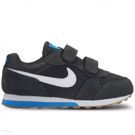 Nike MD Runner 2 Fiú Gyerek Cipő (Sötétszürke-Fehér) 807317-007