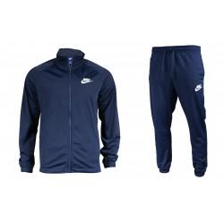 Nike Sportswear TS Férfi Melegítő Együttes (Sötétkék-Fehér) 861780-451