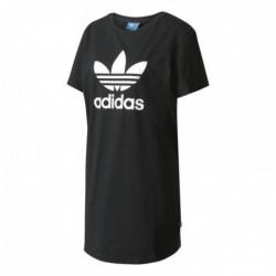 Adidas Originals Trefoil Tee Dress Női Hosszított Póló (Fekete-Fehér) AY8123
