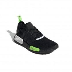 Adidas Originals NMD R1 Férfi Cipő (Fekete-Zöld-Fehér) EF4268
