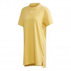 Adidas Originals Trefoil Dress Női Ruha (Sárga-Fehér) FM3277