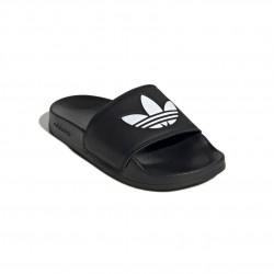 Adidas Originals Adilette Lite J Uniszex Gyerek Papucs (Fekete-Fehér) EG8271
