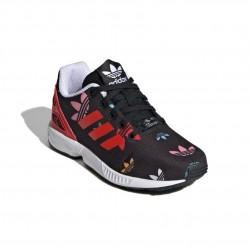Adidas Originals ZX Flux C Lány Gyerek Cipő (Fekete-Piros) FV3106