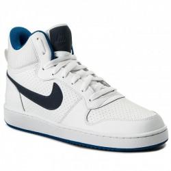 Nike Court Borough Mid Férfi Cipő (Fehér-Sötétkék) 838938-103