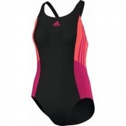Adidas Inspiration One Piece Women Női Úszó Dress (Fekete-Narancs-Pink) AB6956