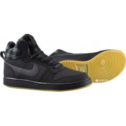 Nike Court Borough Mid Premium Női Cipő (Fekete) 844884-002