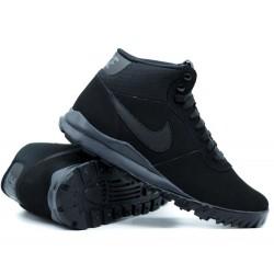 Nike Hoodland Suede Férfi Bakancs (Fekete) 654888-090