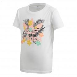 Adidas Originals Tee Lány Gyerek Póló (Fehér-Színes) FM6716