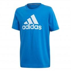 Adidas MH Badge Of Sport Tee Fiú Gyerek Póló (Kék-Fehér) FM6458