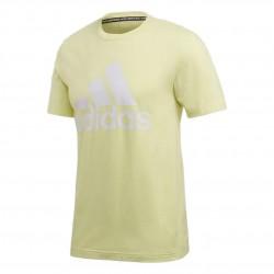 Adidas MH Badge Of Sport Tee Férfi Póló (Sárga-Fehér) FK3505