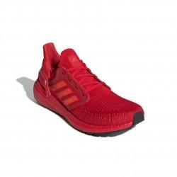 Adidas UltraBOOST 20 Férfi Futó Cipő (Piros) EG0700