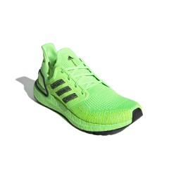Adidas UltraBOOST 20 Férfi Futó Cipő (Neon Zöld) EG0710