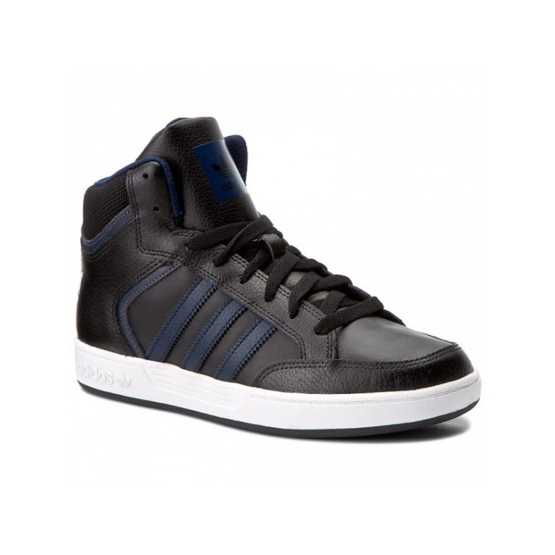 Adidas Original Varial Mid Férfi Cipő (Fekete-Kék) BY4059 1dc4660b18