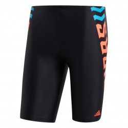 Adidas FIT Lineage Jammers Férfi Úszó Short (Fekete-Narancs) FJ4728