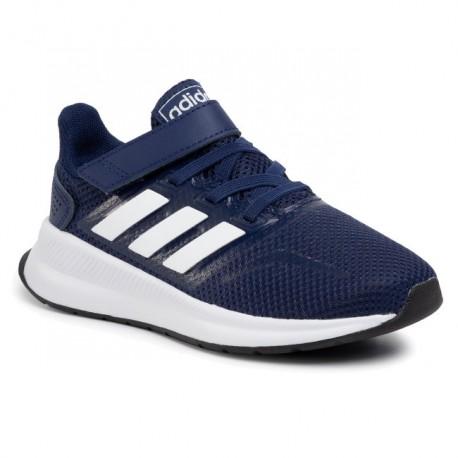 Adidas Runfalcon C Fiú Gyerek Cipő (Sötétkék-Fehér) EG6147
