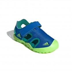 Adidas Captain Toey K Fiú Gyerek Szandál (Kék-Zöld) EF2242