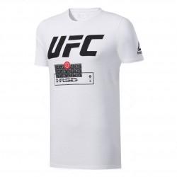 Reebok UFC FG Fight Week Tee Férfi Póló (Fehér-Fekete) FJ5156