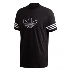 Adidas Originals Outline Tee Férfi Póló (Fekete-Fehér) FM3897