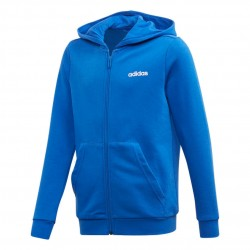 Adidas Essentials Linear FZ HD Fiú Gyerek Felső (Kék-Fehér) FM7037
