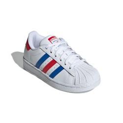 Adidas Originals Superstar C Uniszex Gyerek Cipő (Fehér-Kék-Piros) FV3689