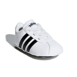 Adidas VL Court 2.0 Kisfiú Bébi Kocsicipő (Fehér-Fekete) F36605