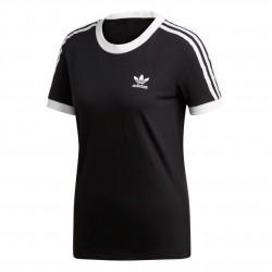 Adidas Originals 3 Stripes Tee Női Póló (Fekete-Fehér) ED7482