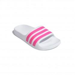 Adidas Adilette Aqua Slides Lány Gyerek Papucs (Fehér-Pink) EF1748