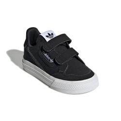 Adidas Originals Continental Vulc CF I Fiú Gyerek Cipő (Fekete-Fehér) EG9101