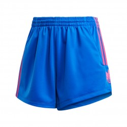 Adidas Originals Adicolor 3D Trefoil Shorts Női Short (Kék-Pink) GM8513