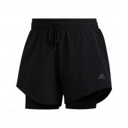 Adidas 2in1 Wov Shorts Női Futó Short (Fekete) FJ7203