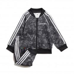 Adidas Originals Goofy SST Set Kisfiú Bébi Együttes (Fekete-Fehér) GD2790