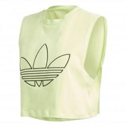 Adidas Originals Cropped Tank Női Trikó (Sárga-Fekete) FM1926